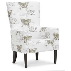 Transitional Armchairs And Accent Chairs by Baxton Studio
