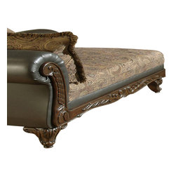 Chelsea Home Furniture - Chelsea Home Serta Ronalynn Chaise in San Marino Chocolate Poly Cotton Blend - Ronalynn Chaise in san Marino chocolate poly cotton blend belongs to Serta collection by Chelsea Home Furniture.