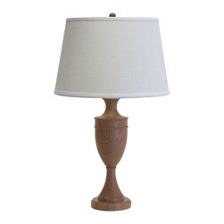 """House of Troy Vermont Cherry 25"""" Turned Table Lamp - House of Troy (Made in the USA) Vermont Cherry 25"""" Turned Table Lamp. Features: On socket On / Off Switch. For more than 40 years, House of Troy has handcrafted Desk Lamps, Piano Lamps and Picture Lights in the great state of Vermont. House of Troy's reputation for craftsmanship, quality materials, and customer service make these items a value unsurpassed in the lighting industry."""