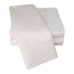1000 Thread Count Cotton Rich Queen Ivory Sheet Set - Cotton Rich 1000 Thread Count Queen Ivory Sheet Set