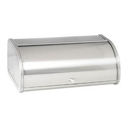 Anchor Hocking - Brushed Steel Bread Box - Anchor Hocking Anchor 98949 Brushed Steel Bread Box with Fingerprint-Free finish.