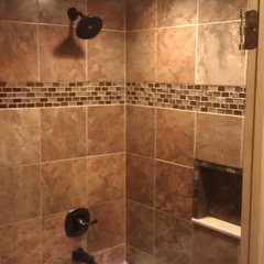 modern bathroom tile by GPB Builders,llc