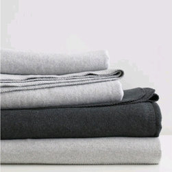 Area - Lloyd Blanket - 100% cotton blanket and throws, heather colors with very soft hand and drape. Machine washable. Blankets come in twin, full/queen and king.