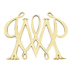 William and Mary Brass Trivet - Trivets are so helpful for those hot dishes that can't be placed directly on the table.  The William and Mary Brass trivet sparkles as only polished brass can...a beautiful addition to any table.