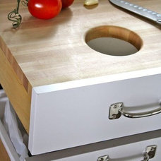 Contemporary Kitchen Drawer Organizers Cutting Board