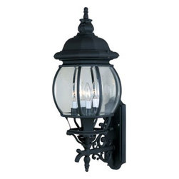 Maxim Lighting - Maxim Lighting 1037RP Crown Hill 4-Light Outdoor Wall Lantern In Rust Patina - Features