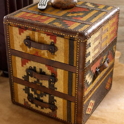 Kilim Leather Chest