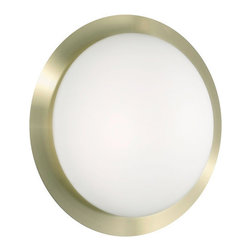 Eglo - Eglo 88098 Orbit 1 Two-Bulb Wall Sconce - Orbit 1 Two-Bulb Wall SconceThe perfect accent to any decor, the simplistic round aesthetic of the Orbit 1 collection brings a quiet distinction and beauty to your home.Product Features: