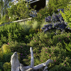Eclectic  by Kenneth Philp Landscape Architects