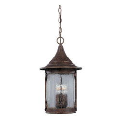 "Designers Fountain - Designers Fountain 20934-CHN 4 Light 11"" Cast Aluminum Hanging Lantern from the - Features:"