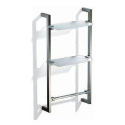 Modo Bath - Flash L200P Step Ladder in Chrome - Flash L200P Step Ladder in Chrome