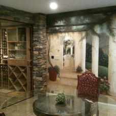 Contemporary Display And Wall Shelves  by Redwood Wine Cellars