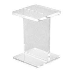 Gus - Acrylic I-Beam Table - Acrylic I-Beam Table by Gus Modern