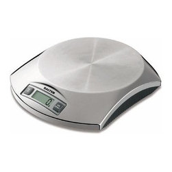 Taylor - Stainless Steel Electronic Kitchen Scale - Salter Stainless Steel Electronic Kitchen Scale with hygienic platform is resistant to staining and flavor carry-over