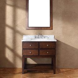 """36"""" Stathos Single Bath Vanity -"""