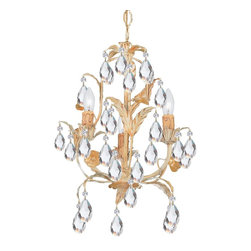 Crystorama - Crystorama Athena Chandelier X-MC-3094 - Athena Collection offers casual yet elegant, whimsical and chic chandeliers and wall sconces.