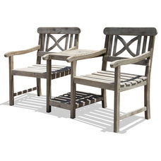Contemporary Outdoor Benches by Overstock.com