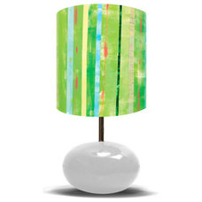 Eclectic Kids Lamps by Rosenberry Rooms
