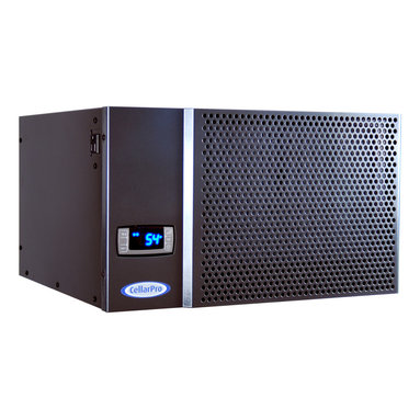 CellarPro® 1800XTS Cooling Unit - CellarPro's 1800XTS wine cooling unit provides outstanding performance, adjustable humidity and maximum cooling power. Perfect for wine cellars up to 400 cubic feet, the 1800XTS is designed for through-wall installation and should only be ducted with an in-line fan.