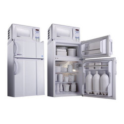MicroFridge - MicroFridge 4R2955 2.9 cu. ft. Refrigerator / Freezer and .7 cu. ft. Microwave M - Shop for Compact from Hayneedle.com! With full-width wire shelves manual defrost and reversible doors and a microwave the MicroFridge 4R2955 2.9 cu. ft. Refrigerator / Freezer and .7 cu. ft. Microwave is a great choice for rec rooms offices dorms and anywhere else where space is limited.The 700-watt detachable microwave features a touch pad controls while the refrigerator has a separate freezer right hand handles and mounting brackets.About AvantiAvanti has been a leader in the Consumer Appliance Industry for over 30 years. They specialize in compact to full-sized refrigerators upright and chest freezers wine coolers water dispensers and more. Avanti's reputation has been built by providing quality products at a great value. They are known for our compact refrigerators for the home office and dormitory. Avanti compact refrigerators have become popular with hotel chains nationwide as in-room refrigerators and refreshment centers.