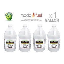 Moda Flame - Moda Flame Ventless Bio Ethanol Fireplace Fuel (1 Gallon) - Moda Flame Ventless Bio Ethanol Fireplace Fuel (1 Gallon)