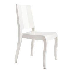 Papatya - Class - X Chair Set of 4, White - Class - X Chair Set of 4