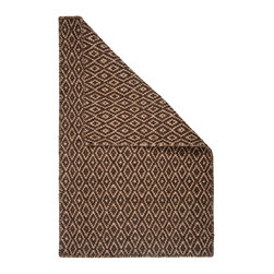 Hook & Loom Rug Company - Shropshire Natural Wool Woven Rug - 100% Natural Wool Rug, expertly and tightly hand-woven to make it thicker and more comfortable than other woven wool rugs. Edges are hand bound instead of hemmed, so this rug is 100% reversible for twice the wear. Colors are natural sheep colors. We use no latex, chemicals, or dyes, so it is earth-friendly and family friendly.