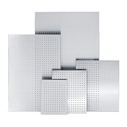 Blomus - Blomus 16 x 20 in. Stainless Steel Perforated Magnet Board Multicolor - 66751 - Shop for Magnetic Boards and Supplies from Hayneedle.com! About BlomusBased in Sundern Germany Blomus is an international designer of functional and decorative stainless steel products for the home interior and exterior. Their aim is to harmonize form and function to create special products for everyday life such as kitchen accessories wellness elements patio accents and decorative items. Their designs soften the cold and sterile edge of stainless steel by combining it with other materials. For Blomus design is not an end in itself but an important part of everyday life.