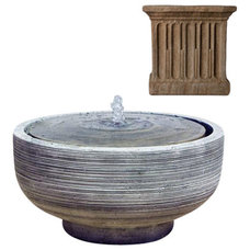 Contemporary Outdoor Fountains And Ponds by Potted