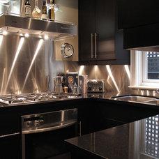 Contemporary Kitchen by Croma Design Inc