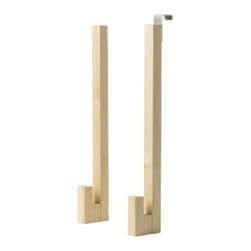 IKEA of Sweden - MOLGER Hanger for door - Hanger for door, birch
