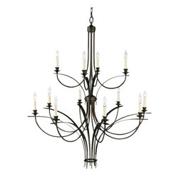 Murray Feiss - 12 Bulb Oil Rubbed Bronze Chandelier - - UL Approved.