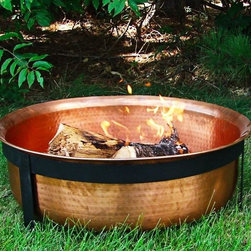 Copper Fire Pit - Outdoor Classic Copper Fire Pit