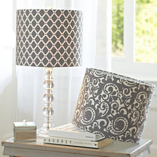 Contemporary Lamp Shades by PBteen