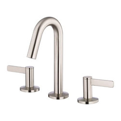Danze - Danze D304030BN Brushed Nickel Amalfi Mini-widespread Bathroom Faucet - Product Features:Faucet body and handles feature all-brass constructionFully covered under Danze's limited lifetime faucet warrantyHigh-quality finishing process – finish covered under lifetime warrantyBathroom faucets from Danze are engineered to function flawlessly and feature enduring designsDouble handle operation – handles rest on 1/4 turn valve seatsMatching touch-down drain assembly includedADA compliant handleLow lead compliant – meeting federal and state guidelines for lead contentWaterSense Certified – uses at least 30% less water than standard 2.2 GPM faucets while still hitting strict performance guidelinesDesigned for use with standard U.S. plumbing supply bibsAll hardware required for faucet installation is includedProduct Technologies and Benefits:Water-Saving Faucet: Danze takes a vested interest in helping to protect our world's most precious resource, water. A low-flow aerator conserves 30% or more water when compared to the industry standard 2.2 gallon-per-minute models. The best part about WaterSense faucets is you compromise absolutely nothing in the way of performance; they are held to the same strict guidelines as any model produced.Touch-Down Drain: This innovation from Danze is a representation of their efforts to make products easier for customers to install and use. Recognizing that assembling and adjusting the drain can often be the most difficult part of replacing a bathroom faucet; these drains were designed to set easily with minimal tools or putties required. Once set these drains are guaranteed to function flawlessly as long as you own the faucet.Drip-Free Ceramic Disc Valves: By making these components standard across all of their bathroom faucets, Danze has made