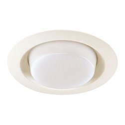 "Juno Lighting - Juno 21 6"" Drop Opal Lens Trim, 21-Wh - 6"" Drop Opal Lens Trim for use with select Juno housings."
