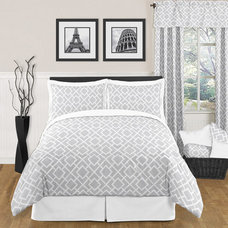contemporary bedding by Overstock