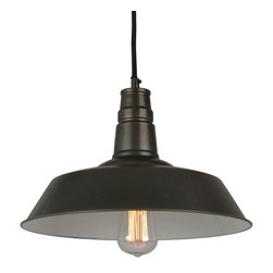 IMPORT LIGHTING & FURNITURE - Calvin Industrial Pendant Light - Dynamic and classical industrial light