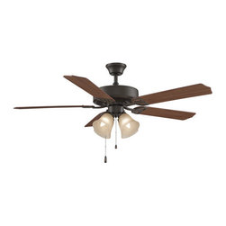 "Fanimation - Fanimation Aire Decor 210 52"" 5 Blade Ceiling Fan - Blades, Fitter Light Kit, an - Included Components:"