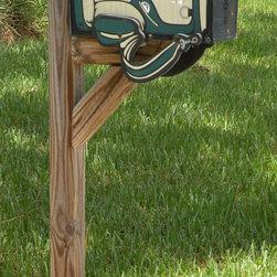 Distinctive Mailboxes - Ponte Vedra golfbag mailbox