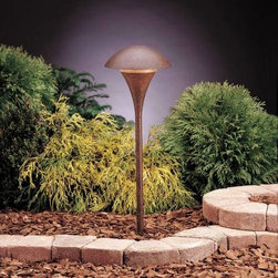 """Kichler - Kichler 15236TZT Eclipse Bronze Path & Spread Light 15236TZT - Textured Tannery Bronze finishBulb Included: No Bulb Type: A19 Collection: Eclipse Finish: Textured Tannery Bronze Height: 25"""" Number of Lights: 1 Socket 1 Base: Medium Socket 1 Max Wattage: 100 Style: Soft Contemporary Casual Lifestyle Type: Path Light Wattage: 100W Width: 9"""""""