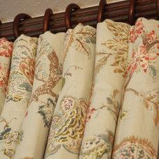 Traditional Curtains by Custom Drapery Designs, LLC.