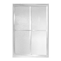 """STERLING PLUMBING - Sterling Standard by Pass Shower Door 46"""" Max Opening - Features:"""