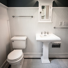 Traditional Bathroom by Building Company Number 7, INC