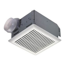 Broan-Nutone 671R Bathroom Ventilation Fan - Whether you need to freshen the bathroom or the laundry room, the NuTone 671R Bathroom Ventilation Fan is up to the task. Crafted with galvanized steel and a polymeric grille fastened with torsion springs, the fan is outfitted with a prewired outlet box, balanced blower wheel, and a quiet automatic plastic backdraft damper. Breezy 90 CFM ventilation is delivered at a low 3 sone sound level. The unit fits a standard four-inch round duct and attaches to joists with an easy-to-install slotted mounting bracket. Use over tub/shower with GFI branch circuit wiring.Dimensions:Housing: 8.5L x 9W x 5.75H inchesGrille: 10.25L x 10.5W inchesAdditional FeaturesGalvanized steel housing with white polymeric grilleEasy-to-install slotted mounting bracketPrewired outlet boxBalanced blower wheelQuiet automatic plastic backdraft damperAbout Broan-NuToneBroan-NuTone has been leading the industry since 1932 in producing innovative ventilation products and built-in convenience products, all backed by superior customer service. Today, they're headquartered in Hartford, Wisconsin, employing more than 3200 people in eight countries. They've become North America's largest producer of medicine cabinets, ironing centers, door chimes, and they're the industry leader for range hoods, bath and ventilation fans, and heater/fan/light combination units. They are proud that more than 80 percent of their products sold in the United States are designed and manufactured in the U.S., with U.S. and imported parts. Broan-NuTone is dedicated to providing revolutionary products to improve the indoor environment of your home, in ways that also help preserve the outdoor environment.