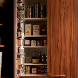 Cabinetry Accessories - Tall Wire Door Rack - Wood-Mode Cabinetry -Heart of the Home Kitchens