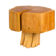 Rustic Side Tables And Accent Tables by Patron Design