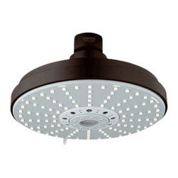 Grohe - Grohe 27135ZB0 Shower Head In Oil Rubbed Bronze - Grohe 27135ZB0 from the Rainshower Heads and Accessories add a new level of performance to your shower. The Grohe 27135ZB0 is a Shower Head With an Oil Rubbed Bronze Finish for an authentic or rustic appearance.