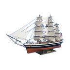 """Handcrafted Model Ships - Star of India Limited 50"""" - Wooden Tall Ship Model - Sold Fully Assembled"""