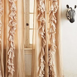 Anthropologie - Wandering Pleats Curtain - *Sold individually